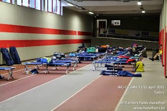 Photo: Weinig atleten in de slaapzaal :-)