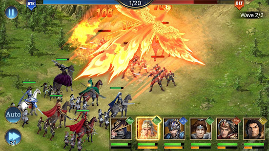 Three Kingdoms: Raja Chaos for PC-Windows 7,8,10 and Mac apk screenshot 6