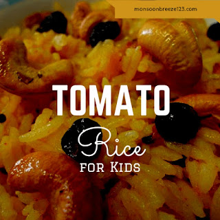 Vegetable Rice Kids Recipes.