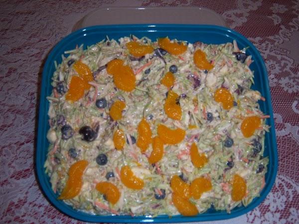 Very Berry Fruity Broccoli Salad Recipe