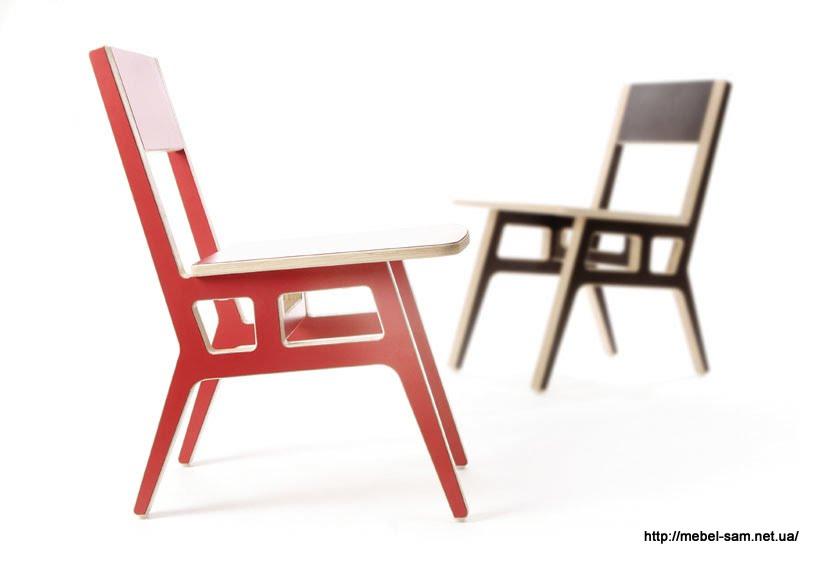стул - вид сбоку