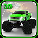 4x4 Monster Truck Roof Stunts icon