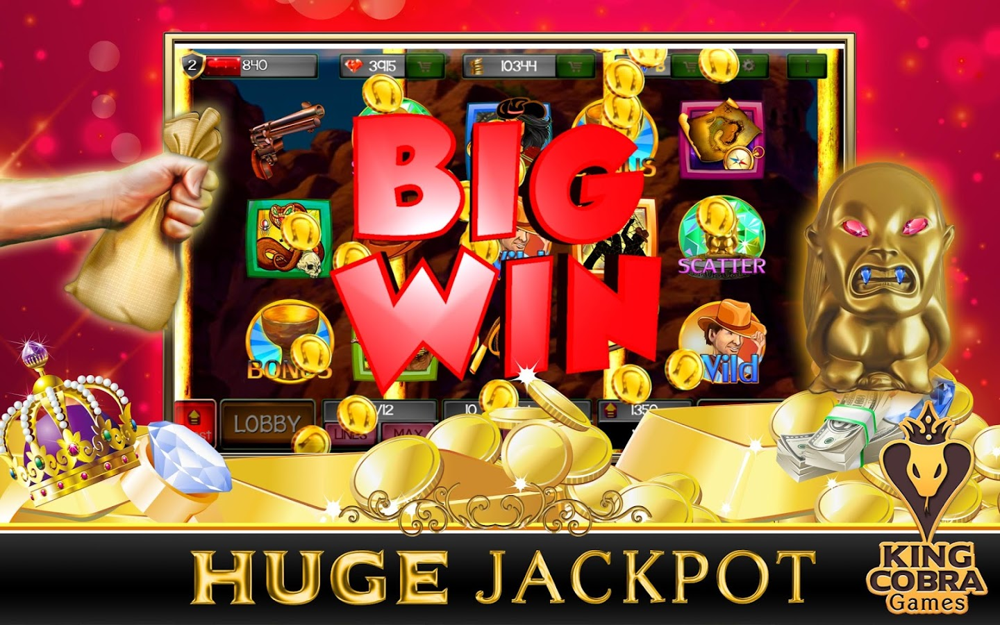 free slots treasure hunt