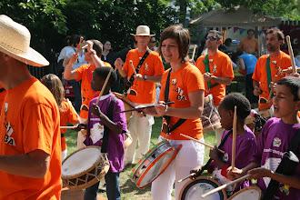 Photo: Fête de Malakoff Macaíba et les enfants des ateliers percussions