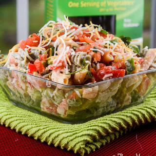 Fiesta Garden Ranch Pasta Salad