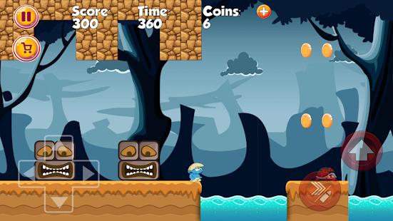 Super Smurf of World Jungle Adventure - náhled