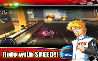 Screenshot of Grand Theft Biker: Vice Race