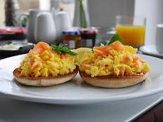 Salmon & Scrambled Eggs