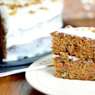 Super Moist Carrot Cake with Creamy Frosting.