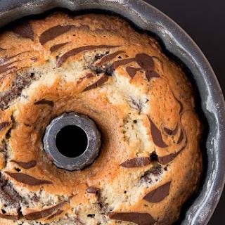 Chocolate Coconut Zebra Cake Recipe