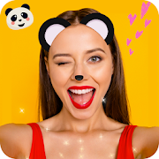 Panda Face Mask photo Editor