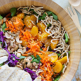 Asian Ginger Chicken Salad.