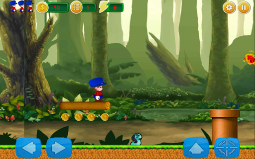 Jungle Chase of Mario