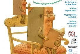Αποτέλεσμα εικόνας για αφισα για την παγκοσμια ημερα παιδικου βιβλιου