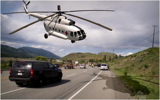 玩模擬App ヘリコプター 救急車: シティ シム免費 APP試玩