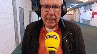 Manolo García, en el Carrusel Deportivo de la Cadena SER.