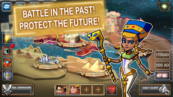 Time Quest: Heroes of History - Strategic RPG (Unreleased)- screenshot thumbnail
