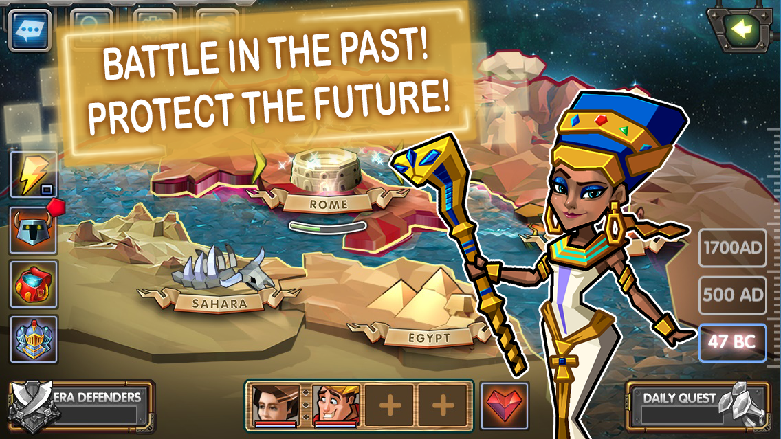 Time Quest: Heroes of History (Unreleased)- screenshot