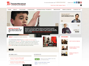 Photo: Toronto Film School, www.torontofilmschool.ca Implemented by: Elemental Inc.