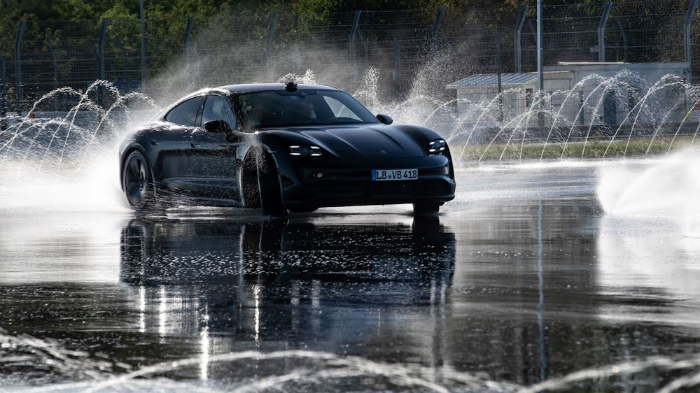 WATCH | The Porsche Taycan drifts into the record books
