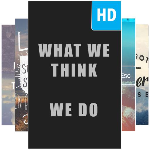 Quotes Wallpaper HD 遊戲 App LOGO-硬是要APP