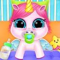 Baby Unicorn Care Pet Pony icon