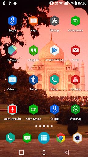 Taj mahal launcher and theme  screenshots 7