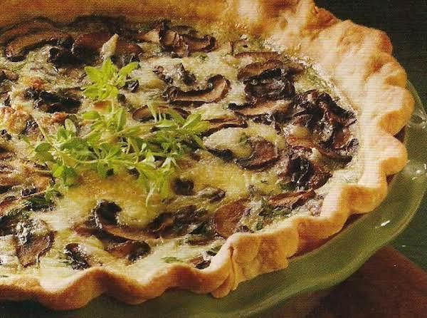 Famous Mushroom Quiche Recipe