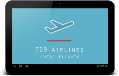 729 Airlines Cheap Flights- screenshot thumbnail
