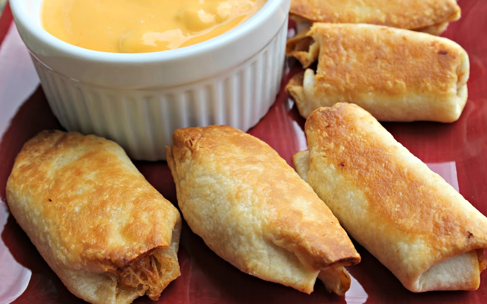 National Eat What You Want Day: Mini Chicken Chimichangas Recipe