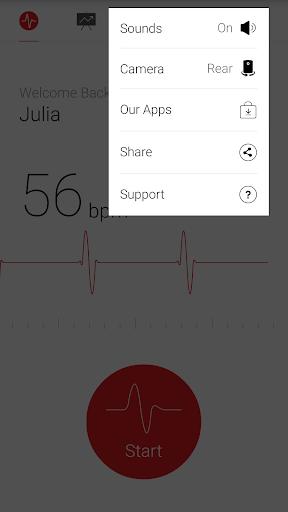 Cardiograph - Heart Rate Meter screenshot 5