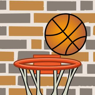 basket touch ball