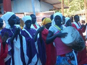 Photo: The Majangir choir joined the celebration.