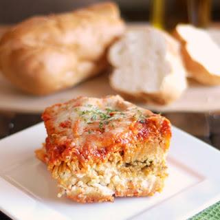 Crockpot Spaghetti Lasagna.