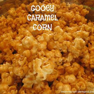 Gooey Caramel Corn