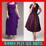 Women Plus Size Dress by idak icon