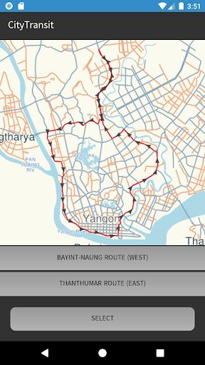CityTransit Yangon 1.9 screenshots 2