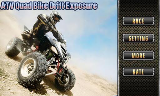 ATV Quad Bike Drift Exposure