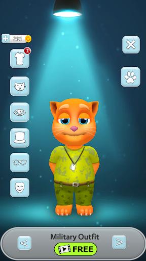 My Talking Cat Tommy - Virtual Pet apkpoly screenshots 6