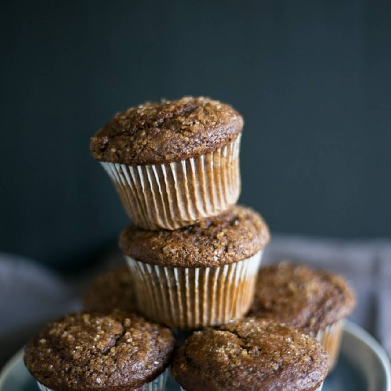 Easy Peasy Delicious Gingerbread Muffins