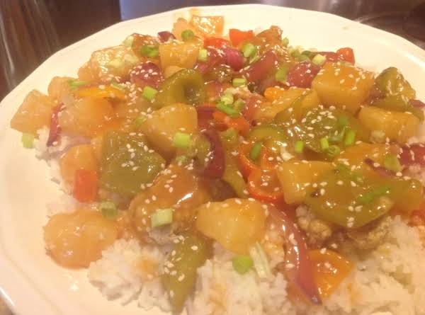 Sweet & Sour Pork With Splenda