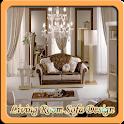 Living Room Sofa Design icon