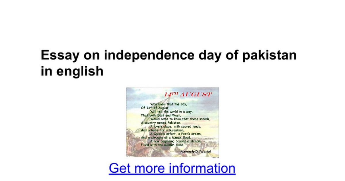 essay on independence day of in english google docs