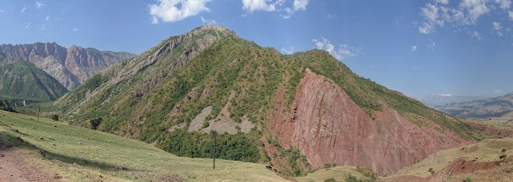 Entrance of the Khingob valley.