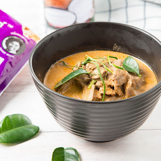 Thai Panang Curry With Beef.