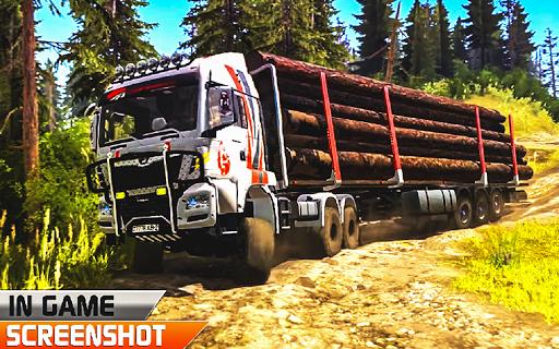 Offroad truck driver 4X4 cargo truck Drive 3D 1.0.8 screenshots 11