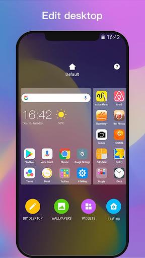 ii Launcher for Phone X & Phone 8  screenshots 4