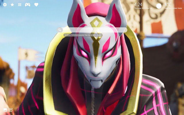 Drift Fortnite Skin Wallpaper Fortnite Drift