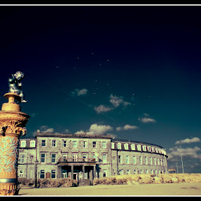 The North Euston Park by Peter Hearn - Buildings & Architecture Other Exteriors ( euston fleetwood infrared hotel )