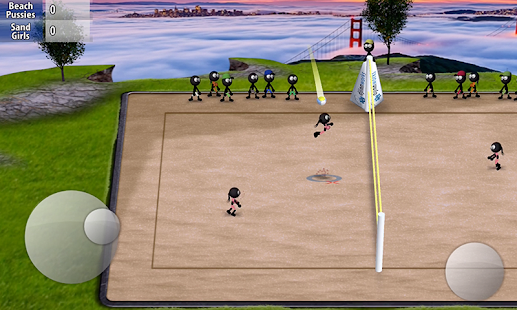Stickman Volleyball- screenshot thumbnail